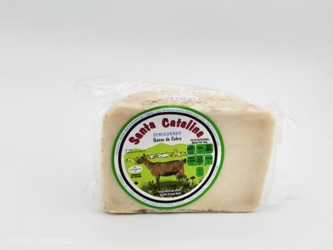 Queso de cabra semicurado Santa Catalina