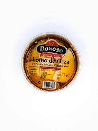 Lomo de orza en aceite Donoso