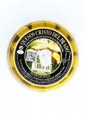 Queso de oveja madurado con aceite de oliva virgen...