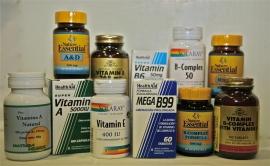 Vitaminas, Minerales, Aminoacidos y antioxidantes