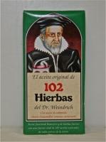 Aceite de 102 Hierbas