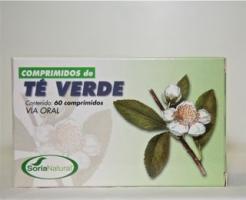 Comprimidos de té verde