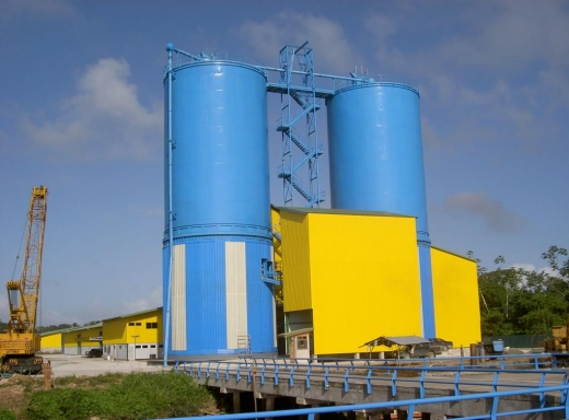 Cement storage and distribution plant(Suriname)