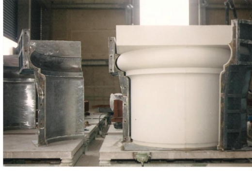 moules de béton architectonique