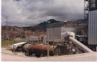 Séchoir de sable(intallation de mortier Central de mezclas)(Bogotá-Colombia)