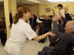 Un amplio equipo de personas con vocación de servicio a nuestros residentes