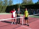 Finalistas y arbitro