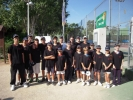 Colaboradores el día de la final del XVII Open