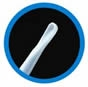 Blue curette InfantScoop®