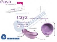 CAYA®  contoured diaphragm + Caya ® Gel