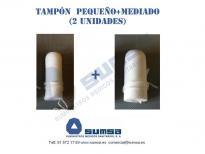 Tampon incontinencia Pequeño y Mediano (2 unidades)