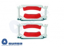 Dribblestop Incontinence Penile Clamp Kit (2 Clamps with sized links)