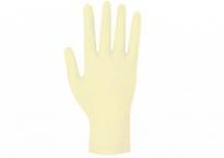 guantes de examen desechables de látex talla S
