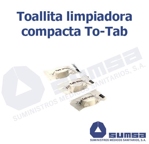 Toallitas TO-TAB limpiadoras en tableta Individual