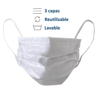 cubre boca de tela lavable reutilizable reusable lavadora covid coronavirus mascarilla