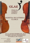 Mondern violin making Showroom. Organized by GLAE in Oviedo