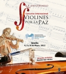 X International Conquest Violines por la paz.  GLAE Instrument exhibition