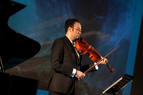 CONCERT BY SCALA DE MILÁN SOLOIST WITH VIOLA BY RL BAILLE