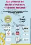 """Música y cuerda co-sponsor the XXII Contest """"Visitación Magarzos"""". CEM de Triana"""