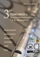 Música y cuerda co-sponsor the III Contest Jóvenes Instrumentistas CEM Macarena