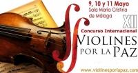 Música y cuerda exhibition in edition 2014 Violines por la paz