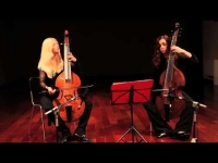 Johanna Rose y Sara Ruiz video with gamba by Robert Louis Baille