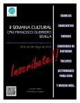 II Cultural Weel. CPM Francisco Guerrero. Robert Louis Baille, violin making workshop