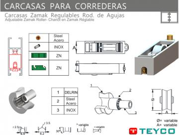 CARCASA DE ZAMAK