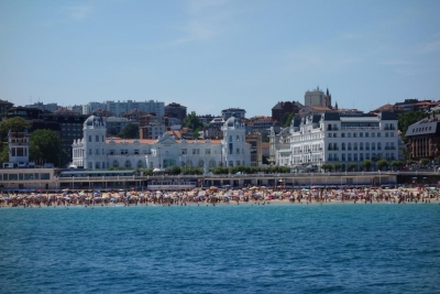 Santander Casino from sea