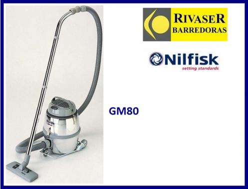 aspirador profesional nilfisk gm 80 p rivaser barredoras alquiler y venta de maquinaria de. Black Bedroom Furniture Sets. Home Design Ideas
