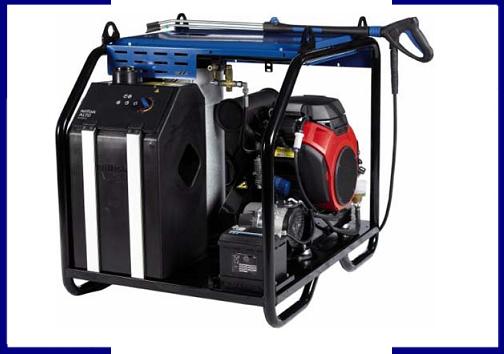 Hidrolimpiadora autónoma de agua caliente NEPTUNE PE