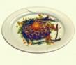 Steak - tartare de espárragos de Huétor- Tájar y arenques al aroma de cilantro