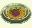 Tomates de la Vega de Granada con espárragos trigueros sobre espuma de tomate