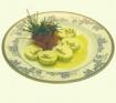 mantequilla de espárragos de Huétor Tájar con virutitas de espárragos crujientes
