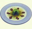 Pudding de espárragos de Huétor Tájar con ajetes tiernos de la vega de Granada
