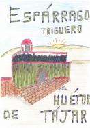 Primer Premio del II Concurso de Dibujo Infantil Espárrago de Huétor Tájar