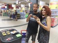 La IGP Espárrago de Huétor Tájar continúa su campaña de promoción en Carrefour