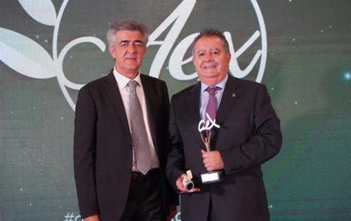 El Consejo Regulador de la IGP Espárrago de Huétor Tájar recibe el Premio Andalucía Excelente 2021