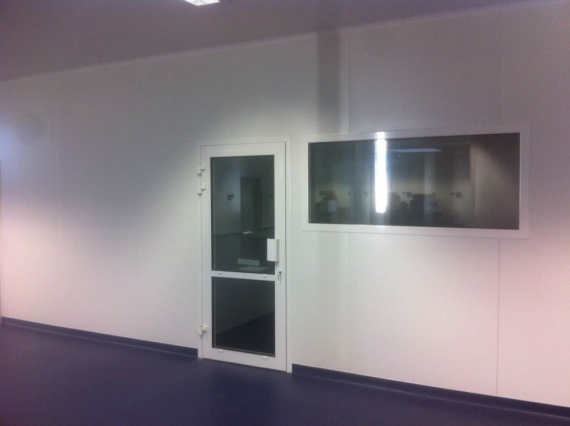 Instalación biomédica panel FRIGOPAP
