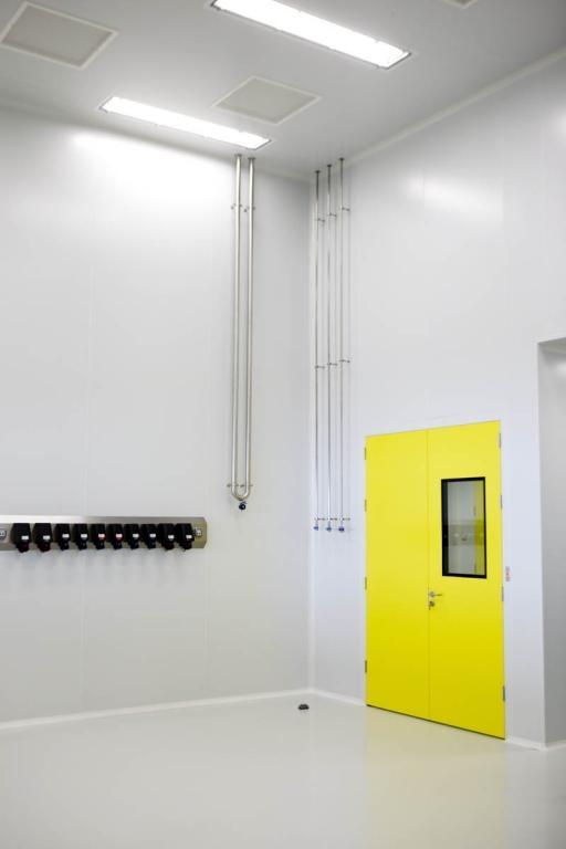 Salas blancas - Instalación biomédica - Panel FRIGOPAP
