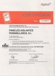 Marzo 2013 - PAP renueva su certificado ISO 9001:2008 hasta 2016