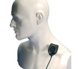 Micrófono-altavoz de solapa Entel CMP1/750