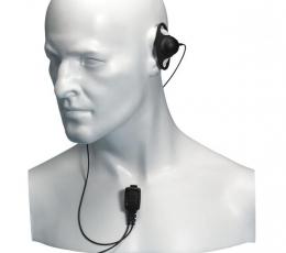 Auricular ligero con micrófono de solapa