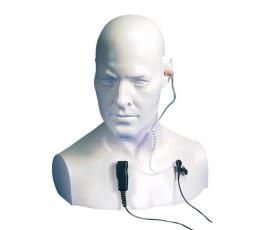 Auricular con micrófono de corbata