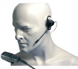 Auricular en D y micrófono con PTT