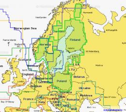 Cartografía Navionics 44XG