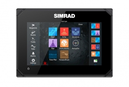 "Simrad GO7 7"" Multi-touch chart plotter with built in Echosounder, GPS and NMEA 2000 interface"
