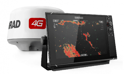 NSSevo3 12-inch display con GPS, sounder, Wi-Fi & HDMI out. Incluye Broadband 4G™ radar