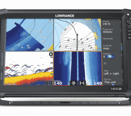 HDS-16 CARBON ROW con TotalScan skimmer transducer