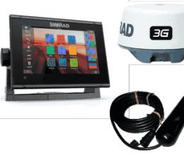 GO7 XSR con TotalScan, Radar 3G y Navionics+